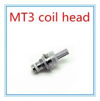 Cheap Universal coil for Mt3 GS-H2 protank mini protank T3s Clearomizer Atomizer Detachable replacement Coil Detachable Head Core e Cigarette