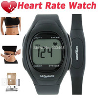 Sport Unisex Round Wholesale-2014 Limited Free Shipping 100% Genuine Brand Pulsometer Heart Rate Monitor with Wireless Chest Strap Unisex Exercise Gym