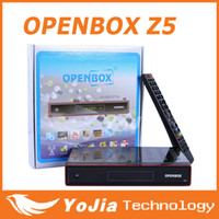 Wholesale Original Openbox X5 update Openbox Z5 p Full HD Satellite Receiver Digital TV Box support Wifi youtube Chinese Languae