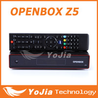 Wholesale 5pcs Original Openbox X5 p Full HD Satellite Receiver update openbox z5 support Wifi Chinese language