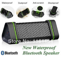 2 Universal Outdoor Latest Portable Wireless Bluetooth Speaker 4W Stereo audio sound Outdoor Waterproof Shockproof speaker for iphone 4 5 iPod,