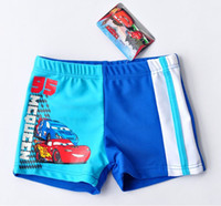 Boy Swim Trunks 3A, 4A, 5A, 6A, 8A Wholesale(5pcs lot) new children baby kids boy CAR cartoon Swimming Trunks Swimwear bathing wear swimsuit beach wear Surfing wear(3Y-8Y)