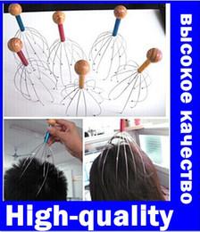 Wholesale 5Pcs Head Neck Scalp Equipment Stress Relax Massage Massager High quality original