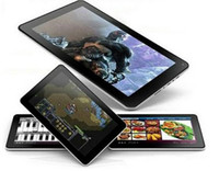 achat en gros de tablette android tactile capacitif-Le moins cher 9 pouces Quad core Android 4.4 Tablet PC Double caméra AllWinner A33 1G / 16GB Capacitif écran tactile bluetooth 9