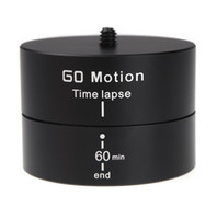 Wholesale New quot Degrees Panning Rotating Time Lapse Stabilizer Tripod Adapter for Gopro DSLR Digital Camera D1186
