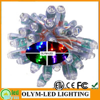 Wholesale Best Waterproof in The Market RGB IP68 DC5V mm WS2801 LED Pixel Module Full Color ws2801 led lights LED Exposed Light String