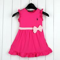 Fashion Dress Brand Girls Dresses Summer Children Clothing B...