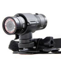 Digital Camcorders mini bike - 2015 New Aluminum Mini F9 MP HD P H Waterproof Sports DV Camera Camcorder Car DVR Outdoor Bike Helmet AT F9 g D1226