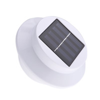 Wholesale Solar powered Light with LEDs Polycrystalline Solar Panel Universal for Roof Pathway Outdoor Garden Yard White H11079W