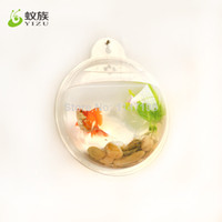 Wholesale new style Acrylic Wall Mounted Fish Tank mirror back Aquariums fish