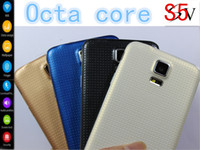 Wholesale Perfect S5 i9600 phone Android mtk6592 octa core MTK6582 Quad Core GB RAM GB ROM GHZ cpu MP x1080 G WIFI WCDMA