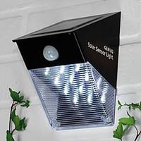 Wholesale PIR Motion Sensor Outdoor Solar LED Wall Light Garden Wall Lamp