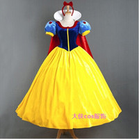 Wholesale Custom made Snow White Princess Dress Belle Cosplay Sexy Costume Women Halloween Victorian dress Party Adult Girl Top Quality Any Size Free
