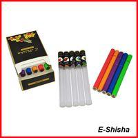 Wholesale health smoke disposable shisha time e cigarettes with diamond tip e shisha with diamond tip e shisha pens puffs CPA ship