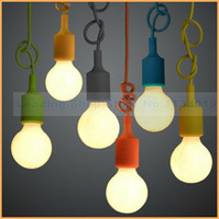 Wholesale 2014 new design colorful Silica gel E27 Lamp holder for Pendant lamp DIY lamps Ceiling Chandelier Light fixture No Bulb
