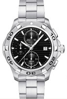 Men's aquaracer quartz watch - Details about Aquaracer Black Dial Chronograph Mens Watch CAP2110 BA0833