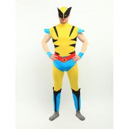 Cool Wolverine X-men Superheo Costume Halloween Cosplay Party Zentai Suit