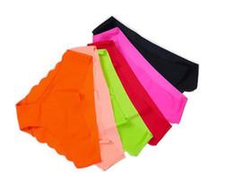 Wholesale Fabric Ultra thin Comfort Underwear women Seamless Panties for women pink seamless Briefs women