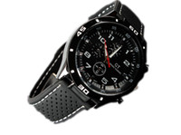 Wholesale Brand Racing Watch Clock Men watch Round Dial Silicone Quartz Watch Popular Hot Sale 155