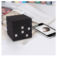 Wholesale Mini Magic Cube Wireless Bluetooth Speaker V3 TF card reader for apple Samsung iphone amp Android color portable speakers