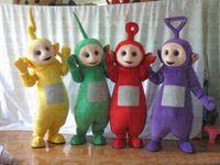 Mascot Costumes adult teletubbies costumes - Hot sale Fashion Teletubbies Mascot Costumes Teletubbies mascot costume Adult cartoon costume