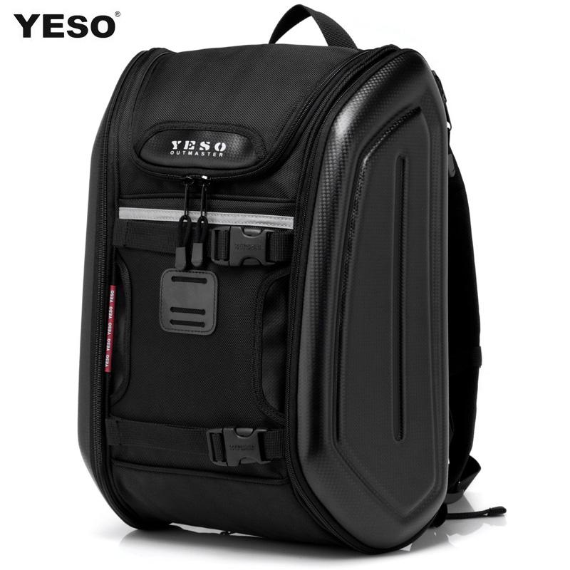 Dresses Yeso Backpack Men Travel Bag Man Motorcycle Hard Shell Bag ...