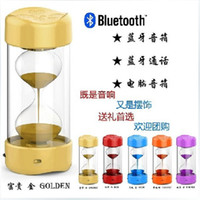 2.1 Universal HiFi Hourglass timer bluetooth speaker wireless bluetooth speaker 2014 New arrival for Phones Tablets Laptops wireless gift audio