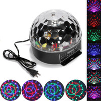 Wholesale Hot sell W DMX512 DJ Disco KTV Light Stage Xmas Private Party Laser Lighting Show Crystal Magic Ball Effect Light