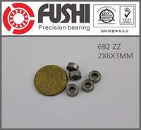 Wholesale 692ZZ ABEC x6x3mm Miniature Ball Bearings ZZ RC MOULD