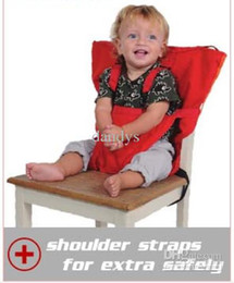 Wholesale NEW Baby Eat chair Seat belt Portable Children dining chair belt colors dandys