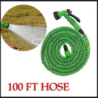 Wholesale Water Garden Hose Pipe tube FT FT FT FT Expandable Flexible Scalable with EU US version Nozzle Sprayers