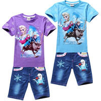 Cheap Girl 2pc sets Best Summer Short clothing sets
