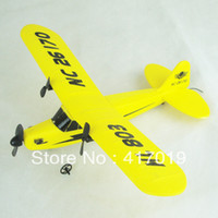 Electric 2 Channel 1:4 Free Shipping HL803 NEW Large EPP remote control glider RC airplane modle Mosquito fighter two-channel fixed-wing novice glider