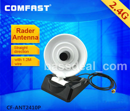 Wholesale DIY wifi GHZ dbi SMA external Rader antenna with m wire long straight direction distance wireless network cards Router