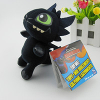 Wholesale New Anime carton dolls Plush toys How to Train Your Dragon Night Fury CM Top quality baby toys children s gift Fashion toys
