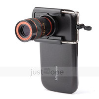 Cheap 8x Zoom Optical Lens Telescope + universal holder For Camera Mobile Cell Phone