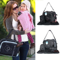 Wholesale The price sales Baby Kingdom Diaper Bag Cross Bag Carriage Adaptable Nappy Tote New Mummy Bag Diaper Baby Bag