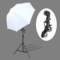 Wholesale pengmall222 Continuous Lamp Bulb K Photography Photo studio Umbrella light Stand Studio Lighting umbrella Kit Set