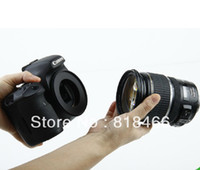 Wholesale pengmall222 tracking number mm Macro Reverse lens Adapter Ring for CANON EOS EF Mount d d d