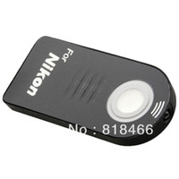 Wholesale pengmall222 DHL Camera IR Wireless Remote Control For Nikon canon sony Olympus Pentax d3100 d7000 d d