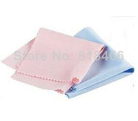 Wholesale pengmall222 FREE SHPPING Square Microfiber Lens Glasses Cleaning Cloths Wipe Camera Phone Pad Cleaning cloth