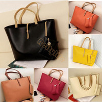 Shoulder Bags Women Plain Hot Celebrity Faux Leather Tote PU Hand Bags for women fashion designer shoulder bag Woman Handbag B2 CB020955