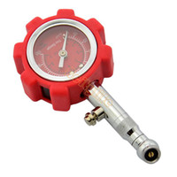 Wholesale New Tire Pressure Gauge Automatic Car High Precision Pressure Monitor Red Z