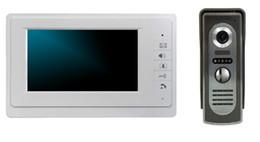 Wholesale new arrival video door phone inch TFT screen aluminium alloy monitor tvl Cmos Night Version Camera Door Bell