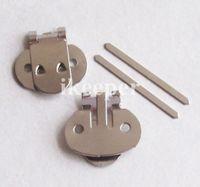 shoe clips - 100pcs Blank Metal Shoe Clips CM With Fixed Bar Shoe Decoration DIY
