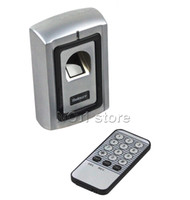 Wholesale Metal Case Fingerprint Door Lock Access Control Controller Kit Remote Control