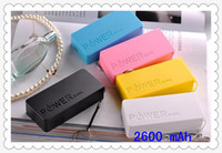 Power Bank  iphone,Samsung cameras PDA MP3 MP4  Power Bank Charger Mini Portable Emergency USB Charger battery power banks for Iphone 5 5s 4 4s samsung galaxy s4 s5 s3 mobile phone 5600mah