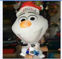 Wholesale hot sale Frozen olaf balloon Toy for birthday party Aluminum foil cartoon balloons cm