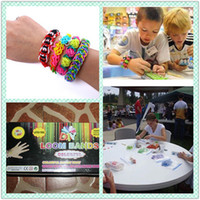 NEW COLOURFUL RAINBOW LOOM RUBBER BANDS BRACELET WRIST MAKIN...