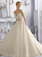 A-Line Model Pictures Sweetheart 2015 Unique Grecian Style Spaghetti Straps Silky Organza Crystal Beaded Sheer-Back White Wedding Dress For Bridal Gown ##123007
